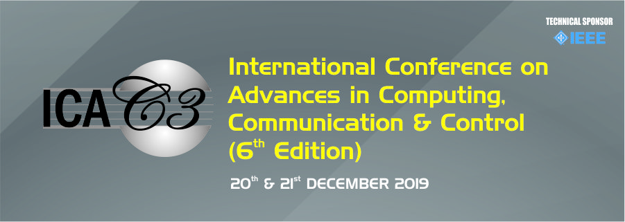 Fr. CRCE,Bandra International Conference on Computing, Communication & Control,  December 2019